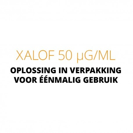 Xalof 50 µg/ml eye drops in solution in single-dose container